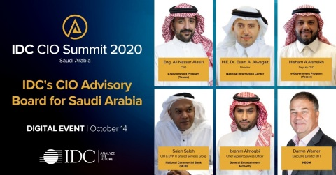 Saudi Arabia's Most Influential ICT Leaders Gather Online for Virtual IDC CIO Summit (Photo – AETOSWire)