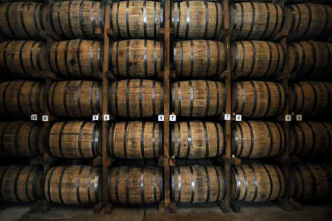 $2.36m was invested in cask whiskey through Whiskey & Wealth Club in September. (Photo: Business Wire)