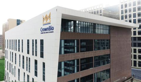 CrownBio's New Zhongshan, China Facility (Photo: Business Wire)