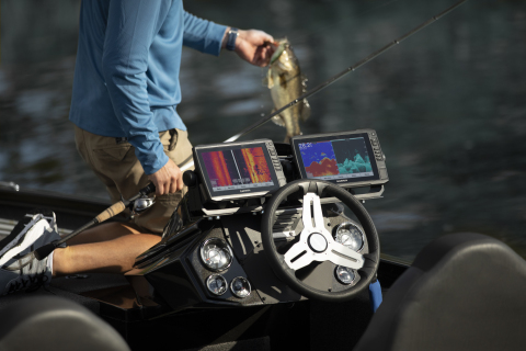 Garmin's new GT56 and GT36 Ultra High-Definition transducers offer stunning clarity and improved performance with 20% greater SideVü range. (Photo: Business Wire)