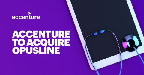 Accenture to acquire OpusLine (Graphic: Business Wire)
