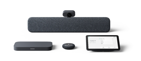 Google Meet room kits from Lenovo (Photo: Business Wire)