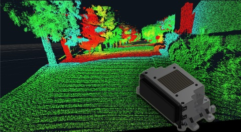 The high resolution of the long-range LiDAR improves the classification of objects. (Photo: Business Wire)