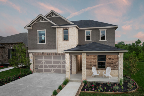 KB Home announces the grand opening of Woodside Farms, its latest new-home community in Seguin, Texas. (Photo: Business Wire)