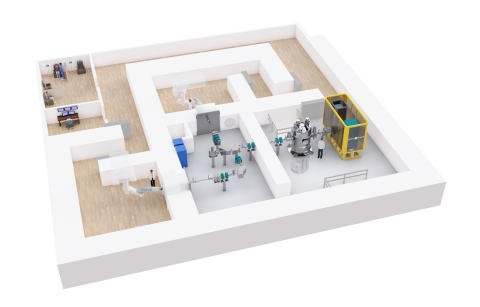 TAE Life Sciences' Boron Neutron Capture Therapy System (Graphic: Business Wire)