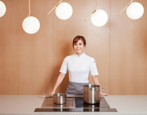 Chef Vicky Lau of TATE Dining Room (Photo: Business Wire)