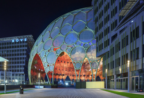 For those who Rove: Rove Expo 2020, the only on-site hotel at Expo 2020 Dubai, adjacent to Al Wasl Plaza - (Photo : AETOSWire)