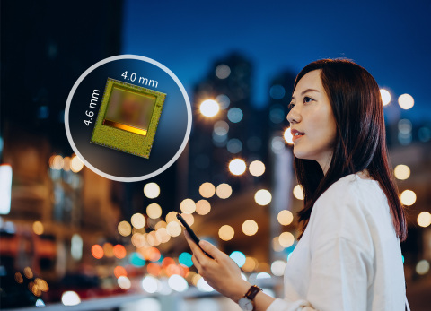 The new REAL3 ToF chip enables better photography results with a faster autofocus in low-light conditions or perfect night mode portraits based on picture segmentation. (Photo: Business Wire)