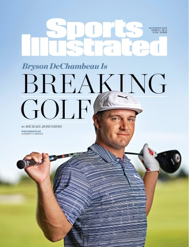 Sports Illustrated 2020 cover featuring golf's Bryson DeChambeau. (Photo: Business Wire)