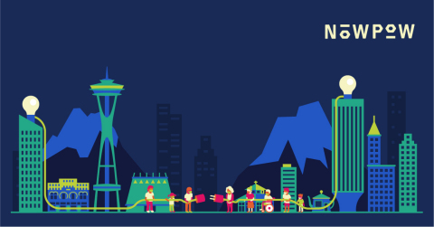 Washington State Skyline - Powering Communities With Knowledge (Graphic: Business Wire)