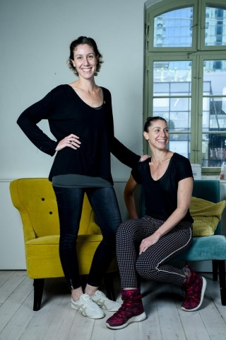 Michal and Merav Mor, twin sisters with PhDs in Physiology, co-founded Lumen and act as Head of Science for Product and Head of Research and Science respectively (Photo: Lumen)