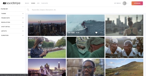 """Soundstripe """"keeps creatives creating"""" with its new stock video service (Photo: Business Wire)"""