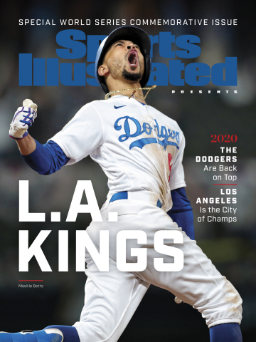 Sports Illustrated Presents commemorative issue celebrating the L.A. Dodgers' 2020 World Series win. (Graphic: Business Wire)