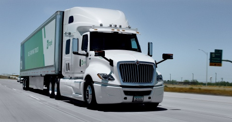 TuSimple has developed industry-leading autonomous technology specifically designed for semi-trucks. (Photo: Business Wire)