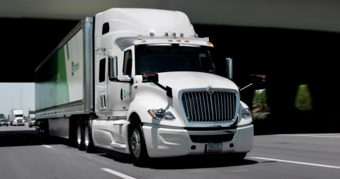 TuSimple's vehicles are capable of autonomously transporting freight on highways and surface streets. (Photo: Business Wire)