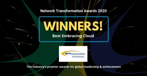 Operator Award: Embracing Cloud (Graphic: Business Wire)