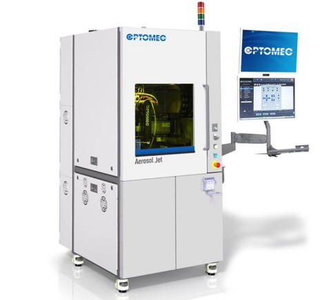 Aerosol Jet 3D Electronics Printer for Medical Devices. Photo courtesy of Optomec, Inc.