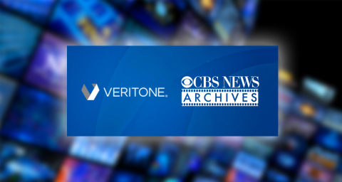 Veritone's new multi-year renewal agreement with CBS News will enhance search and discoverability of content, while also providing greater access to more award-winning news content to license. (Photo: Business Wire)