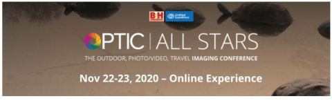 OPTIC All Stars: Outdoor, Photo/Video, Travel, Imaging Conference Online (Photo: Business Wire)