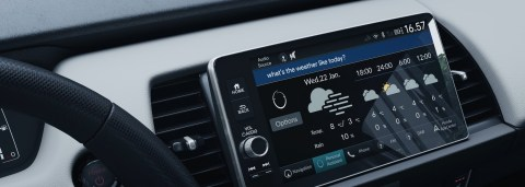 Houndify Voice AI to Power Voice Assistant in New Honda e Cars in Japan (Photo: Business Wire)