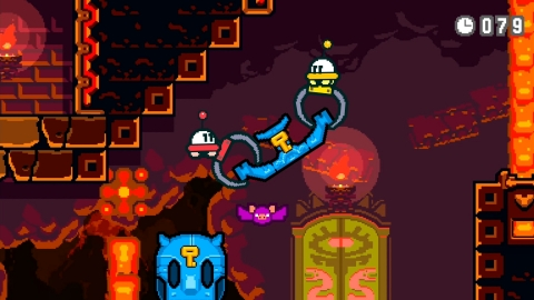 From HAL Laboratory, the developers of the Kirby series, comes Part Time UFO, a colorful game in which you take on the role of an adorable (and helpful!) UFO. (Photo: Business Wire)