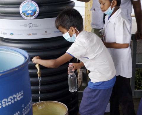 UAE's 20by2020 Initiative Brings Life-Changing Water Solution to Thousands in Cambodian Villages (Photo: AETOSWire)