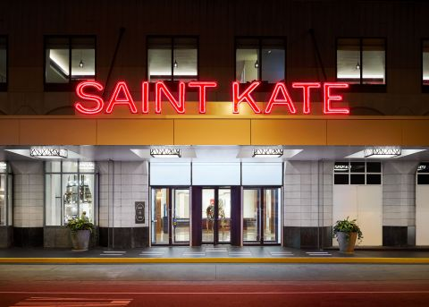 Marcus Hotels & Resorts announced today that Saint Kate – The Arts Hotel will reopen November 5, 2020. (Photo: Business Wire)