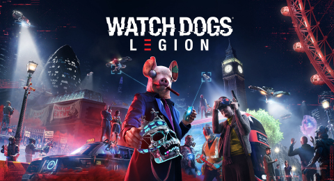 Watch Dogs: Legion key art (Graphic: Business Wire)