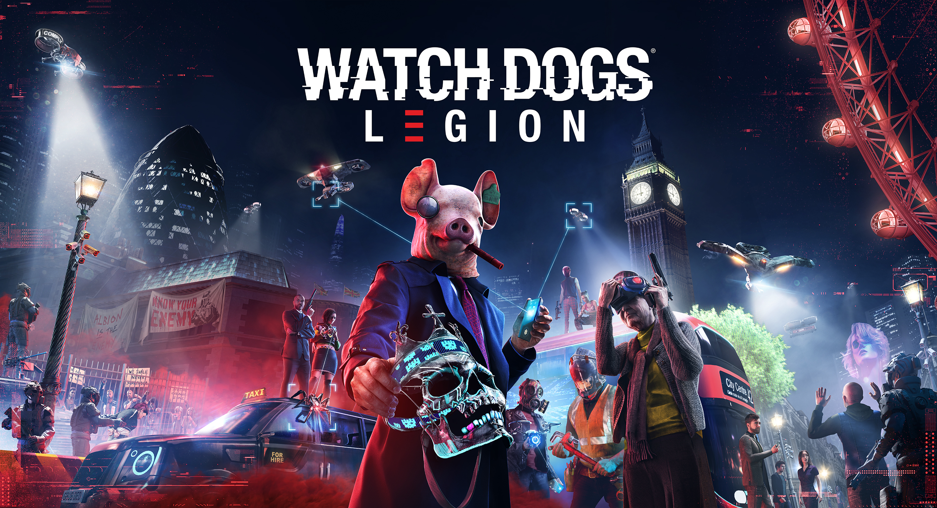 Watch Dogs Legion Now Available Business Wire