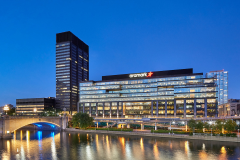 Aramark's global headquarters, in Philadelphia, Pennsylvania, has received LEED Silver certification, by the U.S. Green Building Council (USGBC), for its sustainable workspace design and construction. (Photo: Business Wire)