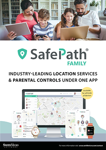 """Now with the release of SafePath 7, Smith Micro's SafePath® Family solution offers real-time location tracking, new """"Pick Me Up"""" functionality, and robust parental controls under one app. (Photo: Smith Micro)"""