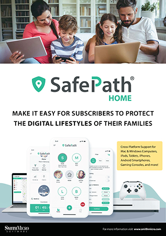 SafePath® Home extends SafePath's robust parental controls and screen time management capabilities to in-home connected devices such as laptops, tablets, smart TVs and gaming consoles. (Photo: Smith Micro)