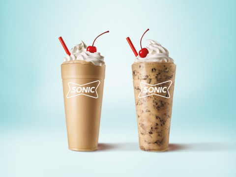 SONIC® Drive-In adds a new, limited time only Shake duo to its lineup of sippable desserts with the new Espresso Shakes. (Photo: Business Wire)