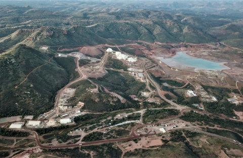 Cerro Los Gatos Mine Overview (Photo: Business Wire)