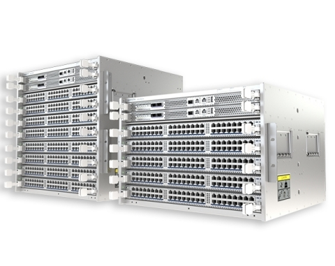 The new 750 Series modular chassis. Arista's latest addition to its Cognitive Campus portfolio. (Photo: Business Wire)