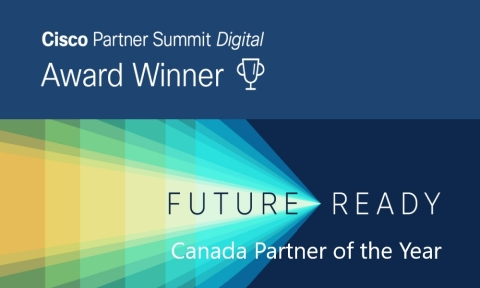 Softchoice awarded Canada Partner of the Year at Cisco Partner Summit Digital 2020 (Graphic: Business Wire)