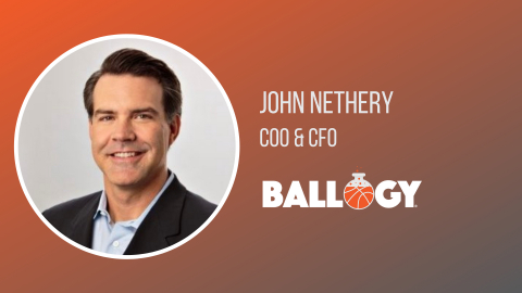 John Nethery Joins Ballogy as Chief Operating Officer and Chief Financial Officer (Photo: Business Wire)