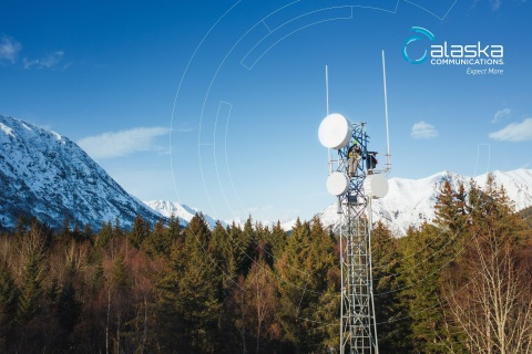 Alaska Communications microwave tower (Photo: Business Wire)