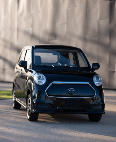 Kandi America's K27, America's most affordable electric vehicle, received its certification from the California Air Resources Board and is now cleared for California roads. (Photo: Business Wire)