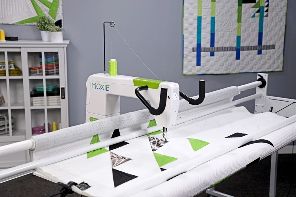 Quilters Have Moxie! New Longarm Quilting Machine from Handi Quilter Offers  the Confidence of Finishing Your Own Quilts   Business Wire