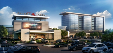 Rivers Casino Portsmouth will be developed and operated by Rush Street Gaming. (Photo: Business Wire)