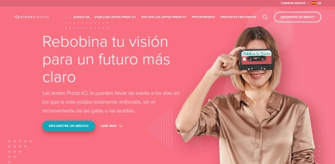 Local language EVO Viva™ Website. (Graphic: Business Wire)