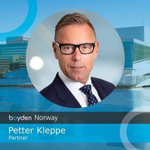 Petter Kleppe, Partner, Boyden Norway (Photo: Business Wire)
