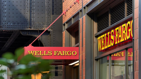 Wells Fargo sign on building. (Photo: Wells Fargo)