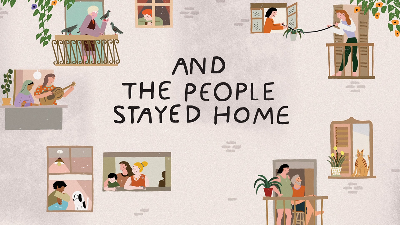 Vooks Animated Book Trailer: 'And the People Stayed Home' written by Kitty O'Meara and read by Kate Winslet