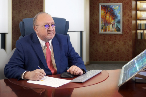 Naser Taher - Chairman of MultiBank Group (Photo: Business Wire)