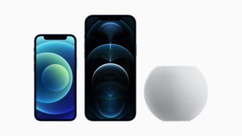 Customers can order the all-new iPhone 12 mini, iPhone 12 Pro Max, and HomePod mini beginning tomorrow, Friday, November 6. (Photo: Business Wire)