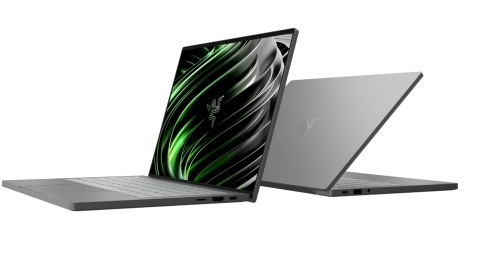 The Razer Book 13 is packed with features including the latest 11th Gen Intel Core processor, per key RGB keyboard lighting, and booming speakers with THX Spatial Audio. (Photo: Business Wire)