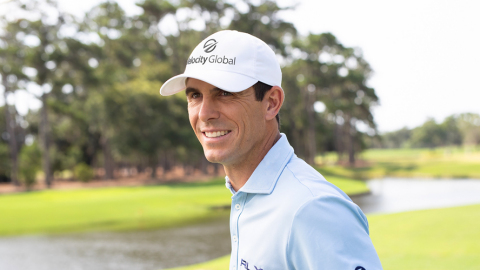 Billy Horschel will wear the Velocity global hat beginning with the 2020 Masters Tournament (Photo: Business Wire)
