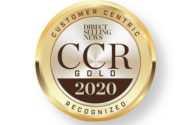 Global healthy-aging haircare, skincare and wellness innovator, MONAT Global Corp (MONAT), has been recognized as a gold member of the inaugural Direct Selling News Customer-Centric Recognition Program, which honors companies leading the way toward a sustainable, customer-centric future for the industry. (Graphic: Business Wire)